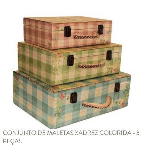 conjunto caixas